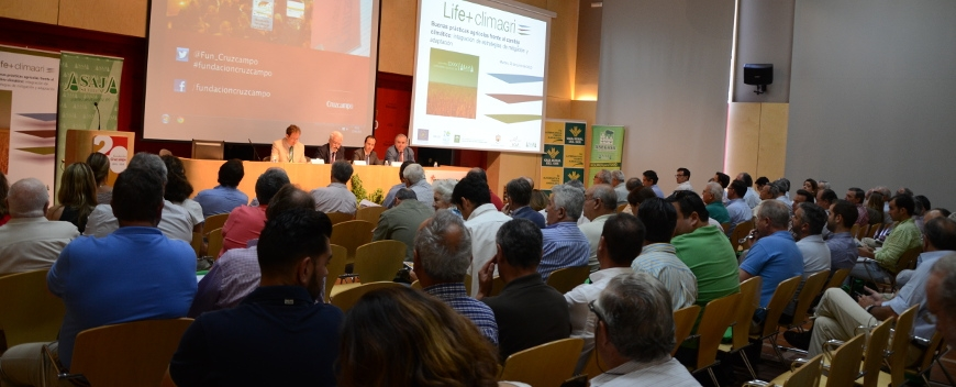 The Life+ Climagri project's first day event is a great success